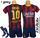 Komplet klubowy MESSI 10 Barcelona + GETRY