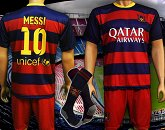 KOMPLET MESSI BARCELONA SEZON 2015/2016 + GETRY