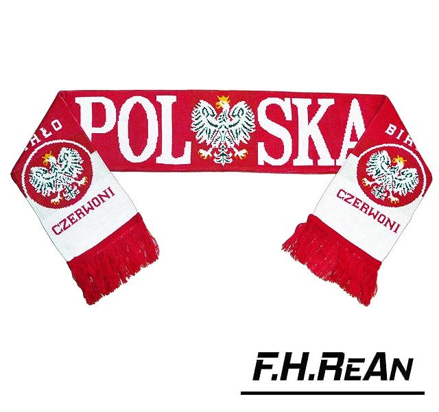 c86265fc0 SZALIK POLSKA 26 wzorów Szaliki Polska Dla Kibica - cena, sklep ...