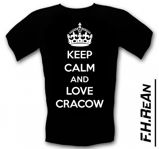 Koszulka T-shirt Keep Calm AND Love Cracow